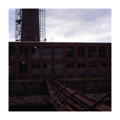 Lawrence, MA. (STREETIZM) Tags: slidefilm e6 milltown lawrencema hasselblad501c kodakektachromee200 80mmplanart