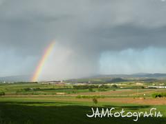 ARC IRIS (JAMfotografia) Tags: rain arcoiris landscape lluvia paisaje catalonia catalunya catalua bages paisatge pluja arcdesantmart catalunyacentral jamfotografia