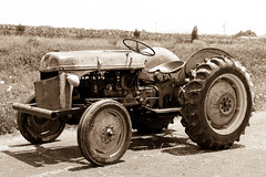 ford tractor (kevin-lyles-photography) Tags: tractor sepia sepiatone fordtractor kevinlyles httpkevinlylestumblrcom httpwwwflickrcomphotoskevinlylesphotographysets httpsplusgooglecomphotoskevinlylesalbums httpwwwpinterestcomkevinlylesphoto httpswwwflickrcomphotoskevinlylesphotographysets