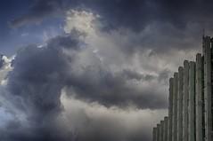 Clouds (NIKOZAR (Nicola Zaratta)) Tags: sky cloud nikon nuvole cielo palazzo hdr bulding taranto d90 bestat