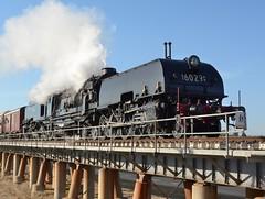 6029 (rob3802) Tags: train rail railway loco steam nsw locomotive wagga waggawagga steamlocomotive garratt arhs murrumbidgeeriver 6029 beyerpeacock nswgr nswr beyergarratt cityofcanberra 60class