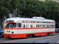 San Francisco Municipal Railway #1079 (vb5215's Transportation Gallery) Tags: muni san francisco municipal railway 1946 exnj transit st louis car pcc