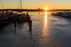 Winter Is Coming (Geoff Livingston) Tags: ice harbor dock river sea potomac alexandria sunrise winter