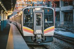 JR EAST E129-100_A20_1 (hans-johnson) Tags: jtrec e129 niitsu niigata rail railway jr jreast train japan nihon nippon tetsudo shinetsu emu transit transport transportation canon eos 5d 5diii 5dm3 5d3 vsco 70200