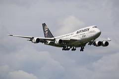 """Air Atlanta Icelandic  Boeing 747-428 TF-AAK """"Iron Maiden"""" (M. Oertle) Tags: airatlantaicelandic boeing 747 747428 tfaak ironmaiden kambui"""