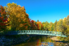 161004-23 Rivire St-Charles (clamato39) Tags: rivirestcharles parcchauveau villedequbec provincedequbec qubec canada river pont bridge autumn automne
