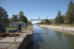 Erie Canal Lock Opens (Mr. History) Tags: eriecanal canal lock erie newyork water