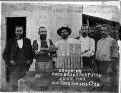 Great Northern Mine, Coen (Queensland State Archives) Tags: mine mining gold wealth ingots miners men hat beard pipe queensland coen qsa queenslandstatearchives heritage history 1905