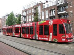 GVB tram 2094 'DIRK' (streamer020nl) Tags: tram strassenbahn gvb 2094 wijttenbachstraat amsterdam 2016 111016 11oct16 holland nl nederland netherlands niederlande paysbas dirk supermarket reclametram 7 oost