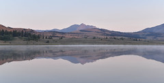 r e f l e c t (E.Duthe) Tags: morning reflect reflection yellowstone national park wyoming swan lake adventure trip