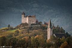 Switzerland (Der Photo Freak) Tags: balzers liechtenstein lie switzerland schweiz berge burg castle kirche church mountain urlaub holiday