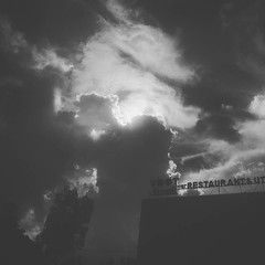 Oi Dekha jay Bhoot #clouds #sun #hot #humid #ohlord (Holy Darker) Tags: instagramapp square squareformat iphoneography uploaded:by=instagram moon