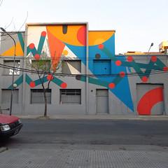 Contacto (Julian Manzelli) Tags: la boca buenos aires argentina mural muralismo neo neomuralismo streetart urbano arte art contemporáneo manzelli julian chu