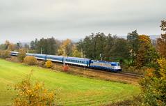 D 380.004-2 (Tom Markovi) Tags: autumn nature railway skoda 380 modern locomotive czech republic