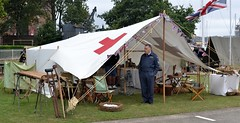 2016-09-17: First Aid Tent (psyxjaw) Tags: chatham dockyard forties event salutetotheforties kent 40s reenactment historic