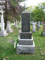Francis Spence (Toronto Cemetery Walker) Tags: francisspence journalist mountpleasantcemetery history headstone cemetery canada