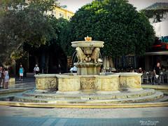 HERAKLEION (braziliana13) Tags: herakleion architecture fountain crete greece greekisland greekhistory square lions outdoor nikon ελλάδα ηράκλειο πλατεία κρήτη συντριβάνι