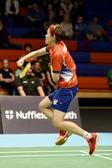 NBLmatch-5100-0582 (University of Derby) Tags: 5100 badminton nbl sportscentre universityofderby match