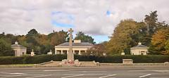 Camberley 20 October 2016 004 (paul_appleyard) Tags: camberley autumn october 2016 rma royal military academy sandhurst entrance war memorial london road a30 lumia 950