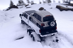 Ford F-350 6 door 6wd 36 (My Scale Passion) Tags: ford f350 meng monogram losi micro mini crawler scale rc modeling custom snow snowrun crawling climbing expedition northpole southpole truck double dual dually duallie 6door 10wd 10x10 125 124 miniz overland landcruiser build
