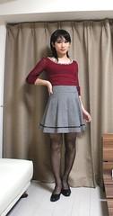 DSC09382 (mimo-momo) Tags: crossdressing crossdresser crossdress transvestite japanese