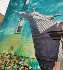A bit of #Rio in #EastChinatown #gerrardavenueeast #graffiti #streetart #mural #ChristtheRedeemer (Georgie_grrl) Tags: instagramapp square squareformat iphoneography uploaded:by=instagram lark graffiti streetart abitofrioineastchinatown christtheredeemer gerrardstreet toronto ontario