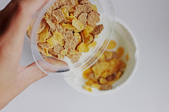 Msli (wuestenigel) Tags: fitness food dessert cornflakes brunch breakfast yogurt muesli healthy fast