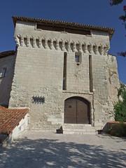 DSCF0120 Chteau d'Aubterre-sur-Dronne (Charente) (Thomas The Baguette) Tags: aubeterresurdronne charente france monolith cave church tympanum glise glisenotredame saintjacques caminodesantiago sexyguy chateau cloister minimes mithra mithras cult