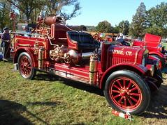 1922 Brockway-LaFrance Fire Truck (splattergraphics) Tags: 1922 brockway brockwaylafrance fireengine firetruck chemical1 lymect carshow aacaeasterndivisionfallmeet aaca antiqueautomobileclubofamerica hersheypa