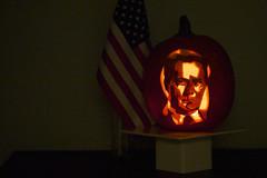 President Booo-tlet (zmotoly) Tags: pumpkin carving halloween jackolantern politics political west wing president jed bartlet
