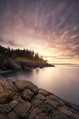 Sheringham Sunrise (dharnan) Tags: sunrise sheringham point long exposure calm before storm calming relaxed pensive lonely clouds lee filter big stopper west coast best bc sooke pacific ocean tranquil tranquility