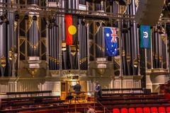Pipe Organ (SC) Tags: sydneytownhall pipeorgan grandorgan sydney townhall australia nsw architecture flag australian aboriginal