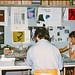 1981 PINK-redactie in kelder O42 Nijmegen
