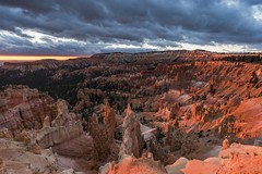*Bryce Canyon @ sunrise* (albert.wirtz) Tags: brycecanyon bryce albertwirtz utah nationalpark sunrise sonnenaufgang nikon d810 sunrisepoint amphittheater wolken clouds usa vereinigtestaaten amerika unitedstates canyonglow nordamerika garfieldcounty inexplore explored