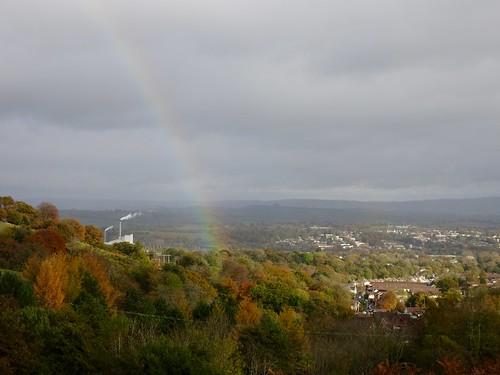 Rainbow Over Cwmbran 6 November 2016