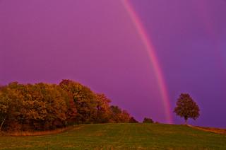 arc-en-ciel du soir...