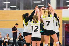 Women's Varsity Volleyball vs. Canadore-9 (centennial_colts) Tags: scream green centennial college ocaa ocaacentennialcolts colts womens volleyball varsity 2016