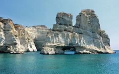 Kleftiko (Perfect Gnat) Tags: milos kyklades greece hellas sea cliffs nature sky bluesky summer island kleftiko blue rock landscape cliff
