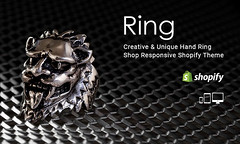 Ring – Creative & Unique Hand Ring Shop Responsive Shopify Theme (ThemeTidy) Tags: shopifythemes shopify themes templates shopifytemplates bootstrap responsive ecommerce handring shop creativedesign