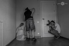 MAKING KAFKA_7 (Almu_Martinez_Jiménez) Tags: makingoff kafka proceso teatro exposición black white photo raro friends working team espejo blanco y negro maquillaje video fotografía