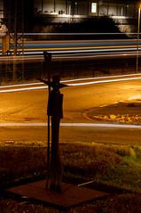 Verkehrswacht (montagestaender) Tags: lightpainting lzb strase nacht street night light licht stadt city