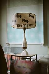 . (Ansel Olson) Tags: table light shadow nikon f3 35mm film kodak portra 50mm f12 photography