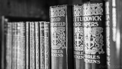 Dickens (#Weybridge Photographer) Tags: adobe lightroom canon eos dslr slr 5d ii goodwood house hound lodge west sussex mkii westsussex hotel stately home charles dickens book books