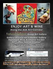 #Flaglerbeach #Art #Wine #Palmcoast #FlaglerArtWineShuttle #VivoTours (mikeyes2) Tags: november 26 2016 1256pm flaglerbeach art wine palmcoast flaglerartwineshuttle vivotours