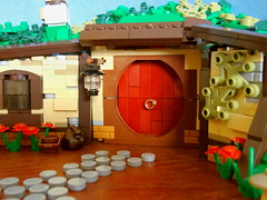 LEGO Hobbit Hole (Evan Ridpath) Tags: lego hobbit lord rings hobbiton new zealand shire bilbo baggins frodo gandalf grey white dwarf dwarves castle moc nature elf elves hobbits smaug rivendell creation fantasy minifigure fig travel legoland peter jackson gollum smeagol dragon creature mordor bag end fellowship ring two towers return king an unexpected journey desolation battle five armies lake town mocpages eurobricks hole door building garden stones legolas thorin oakenshield sam merry pippin gimli saruman sauron matamata
