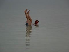 Dobberend in de Dode zee