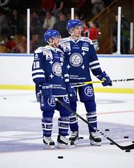 Janos Hari och Lukas Eriksson 2016-09-01 (Michael Erhardsson) Tags: leksand if lif 2016 ishockey svensk leksands match rebro hockey kumla trningsmatch september janos hari lukas eriksson uppvrmning