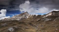 Alpe di Fosses (Kevin.Grace) Tags: italy dolomites dolomiti unesco clouds mountain landscape fosses blue sky