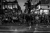 Facing the world alone. (Christian S. Mata) Tags: nikon d5300 50mm dslr street black white crowd madero bellas artes people mexico torre latinoamericana
