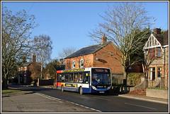 36210, East Street, Long Buckby (Jason 87030) Tags: eastst street longbuckby village northants northampton northamptonshire 96 e200 enviro kx60lhr 36210 terribletwins rugby november 2016 sunny